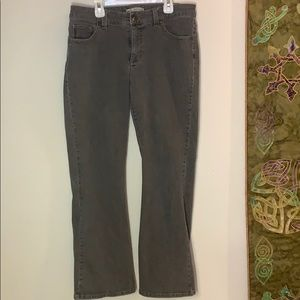 Gray Lee stretch jeans